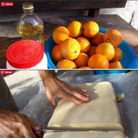 Sabão Caseiro De Limão Muito Fácil De Ser Feito E Muito Bom