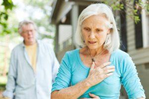 infarto feminino